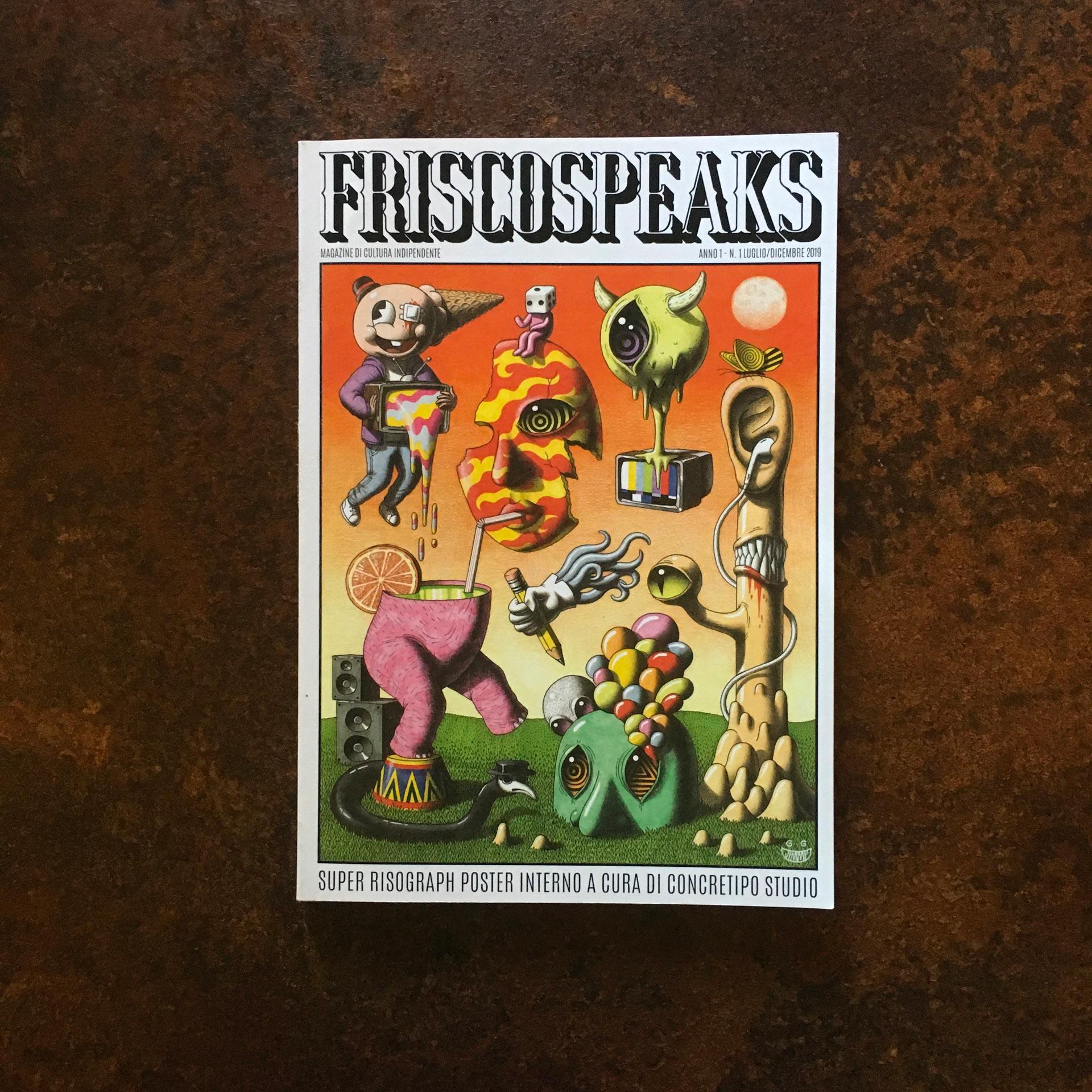 Presentazione della rivista indipendente Friscospeaks